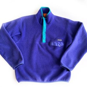Patagonia Fleece Pullover shirt Women's Size Med